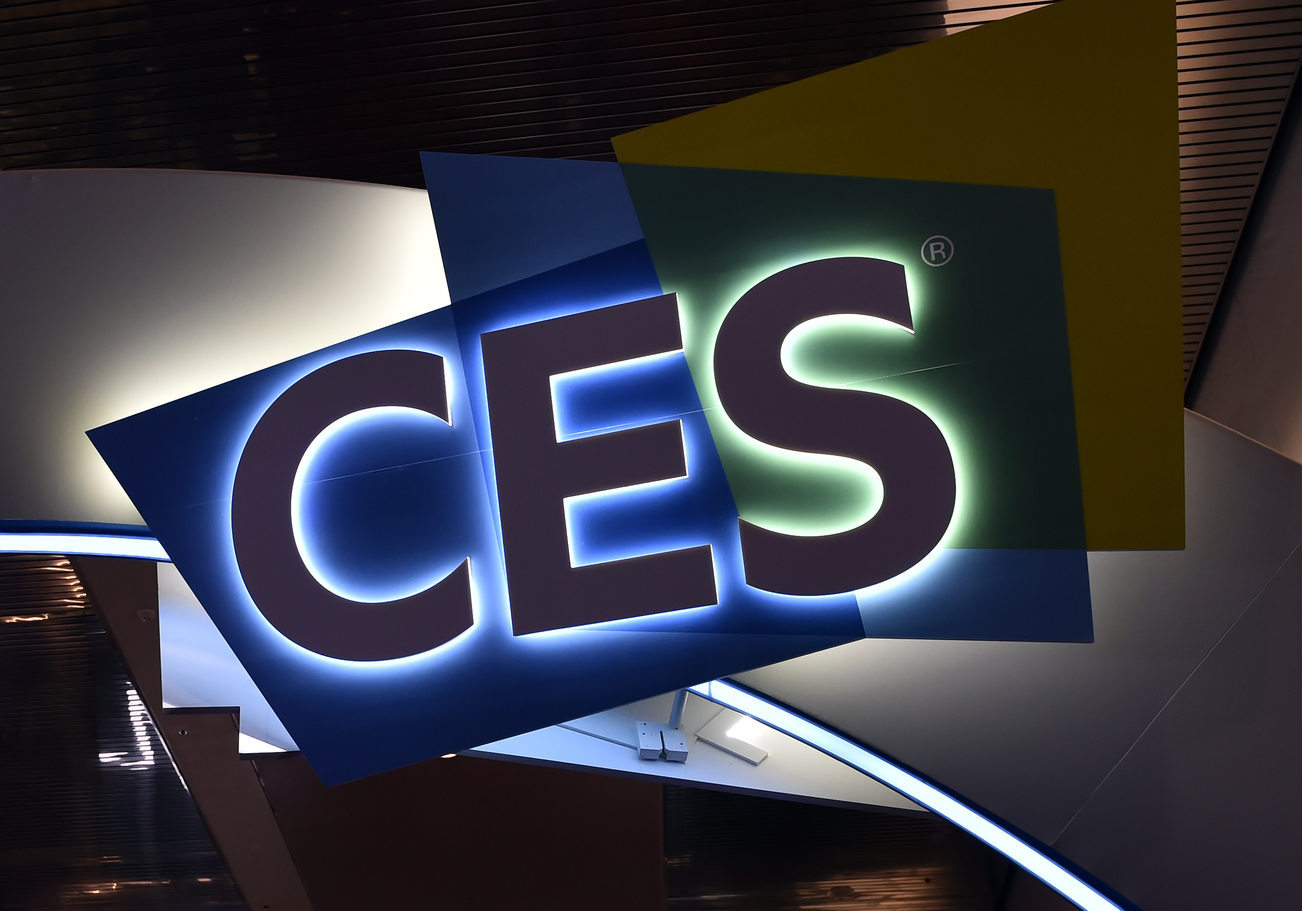 LAS VEGAS, NEVADA - JANUARY 08: A CES sign is illuminated at CES 2019 at the Las Vegas Convention Center on January 8, 2019 in Las Vegas, Nevada. CES, the world's largest annual consumer technology trade show, runs through January 11 and features about 4,500 exhibitors showing off their latest products and services to more than 180,000 attendees. (Photo by David Becker/Getty Images)
