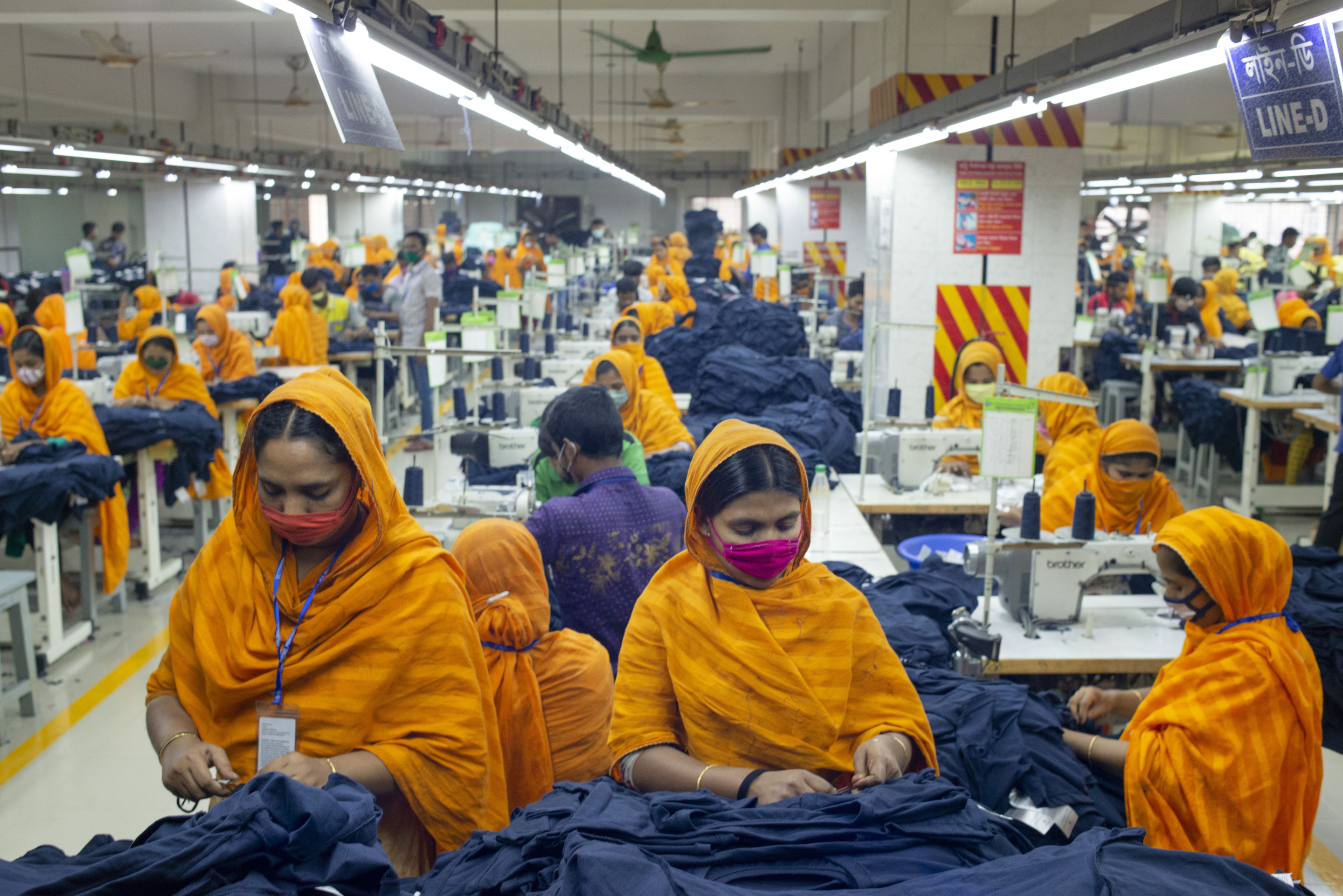 Bangladesh garment manufacturers are seeing an increase in orders from U.S. companies shifting business from China.