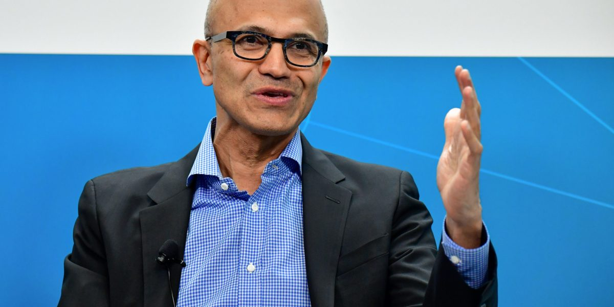 Microsoft Reports Record Quarterly Revenue Thanks to Booming Cloud-Computing Business