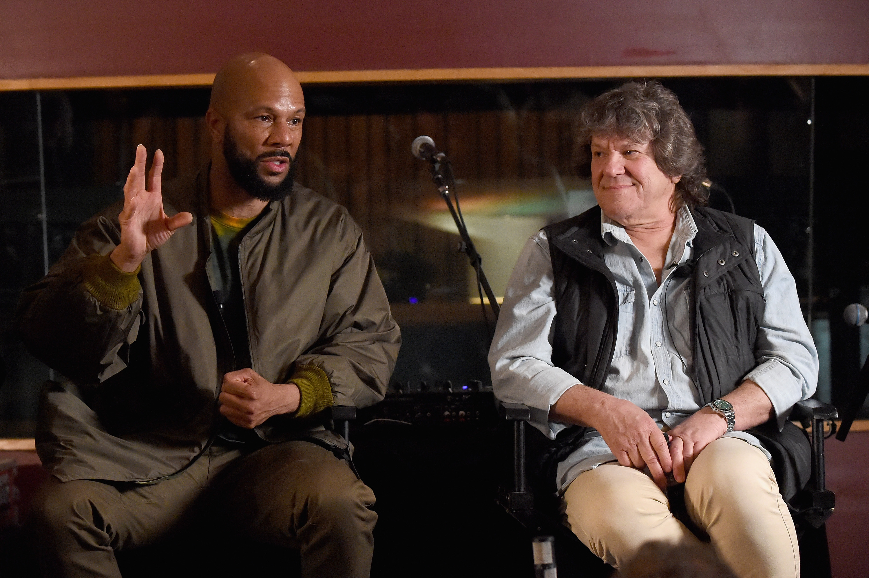Common and Woodstock organizer, Michael Lang