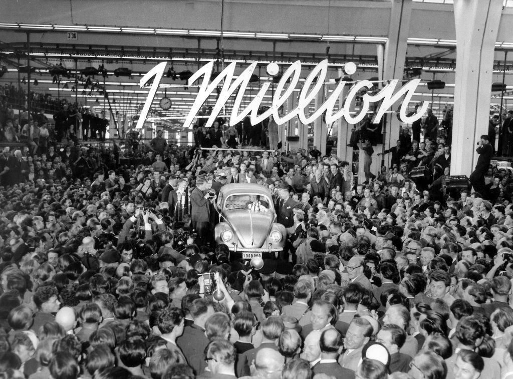 Volkswagen Beetle 1 Million