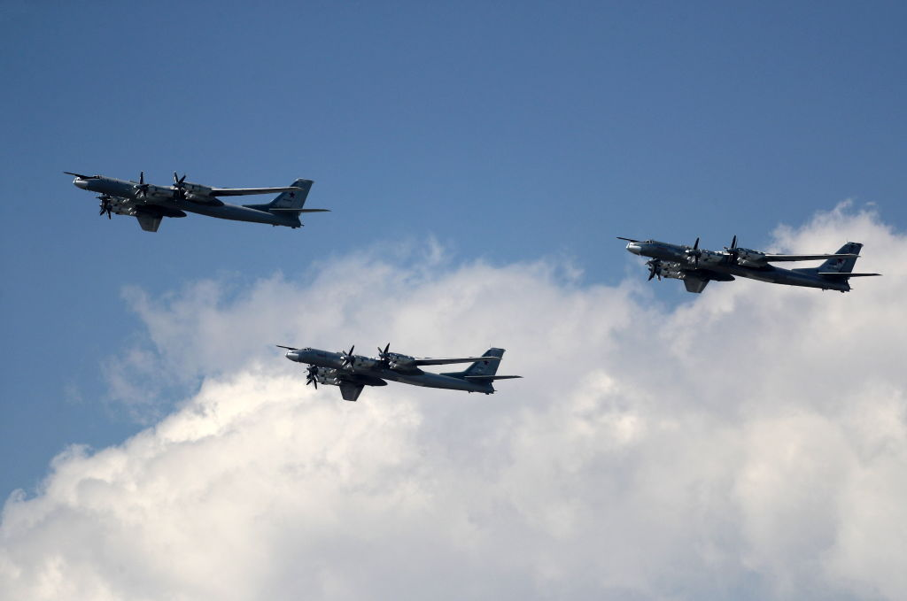 Two of the bombers flew into Korean airspace on Tuesday, according to the Korean government, an allegation Moscow has denied.