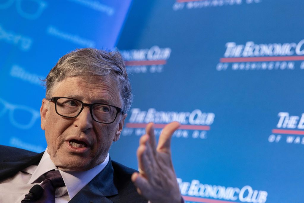 Bill Gates speaks at Economic Club of Washington, D.C.