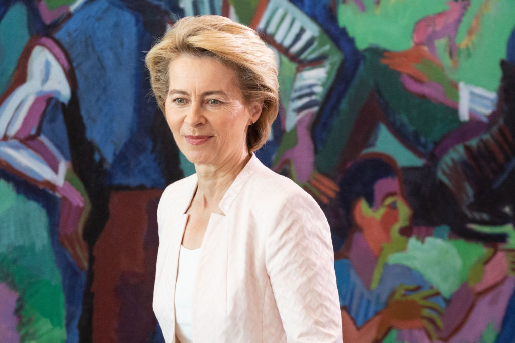 Ursula von der Leyen was nominated to become head of the European Commission, while Christine Lagarde was proposed as head of the European Central Bank. (Photo by Omer Messinger/Getty Images)
