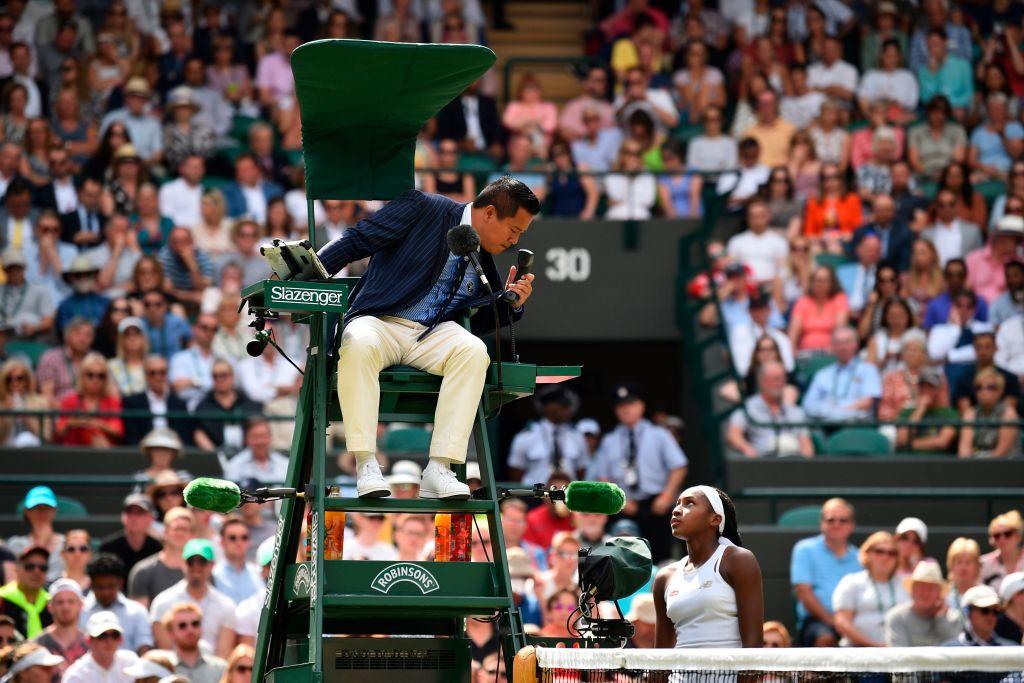 Wimbledon 2019 arbitre serena