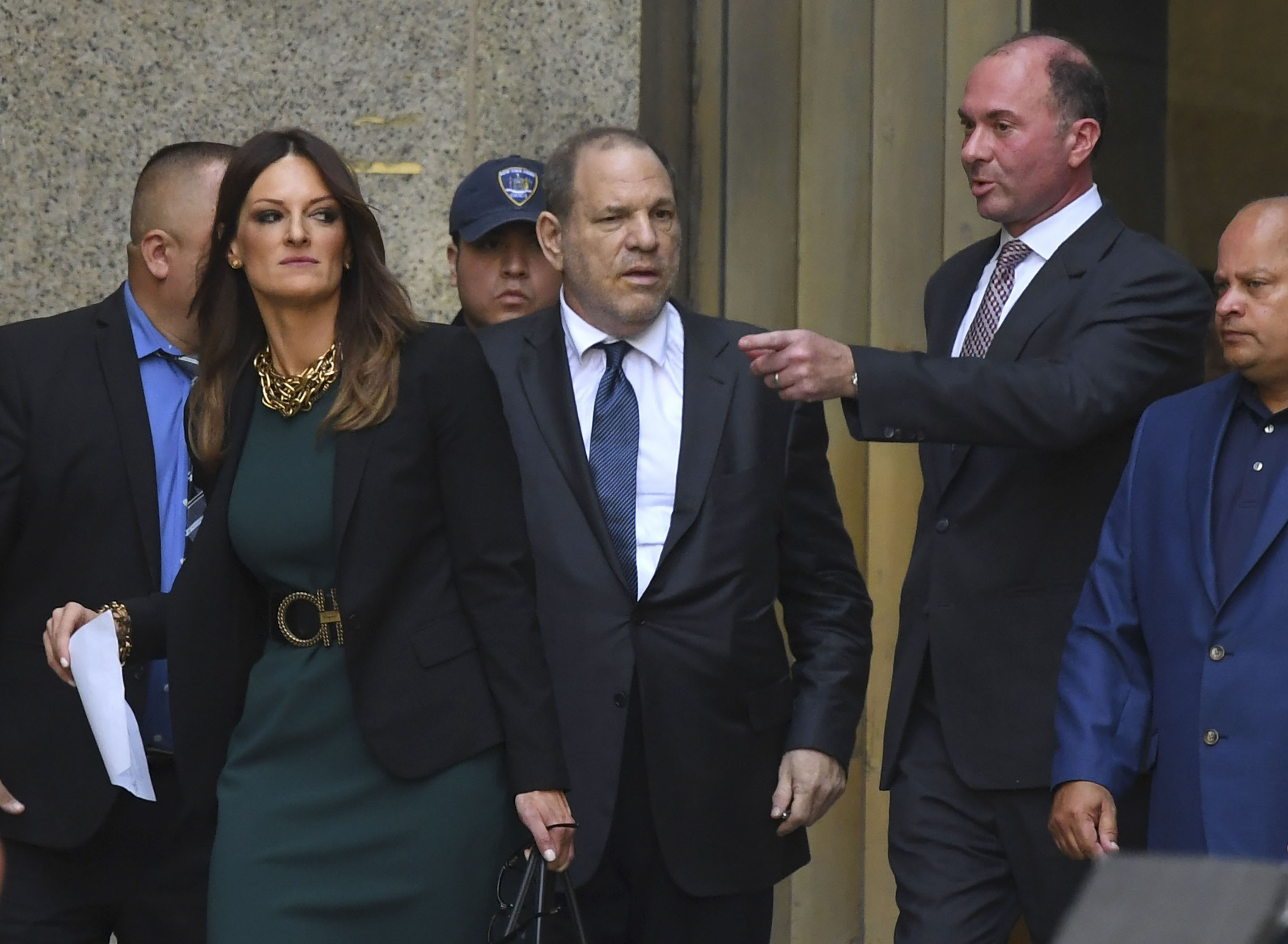 Image result for Harvey Weinstein hired a new legal team to represent him