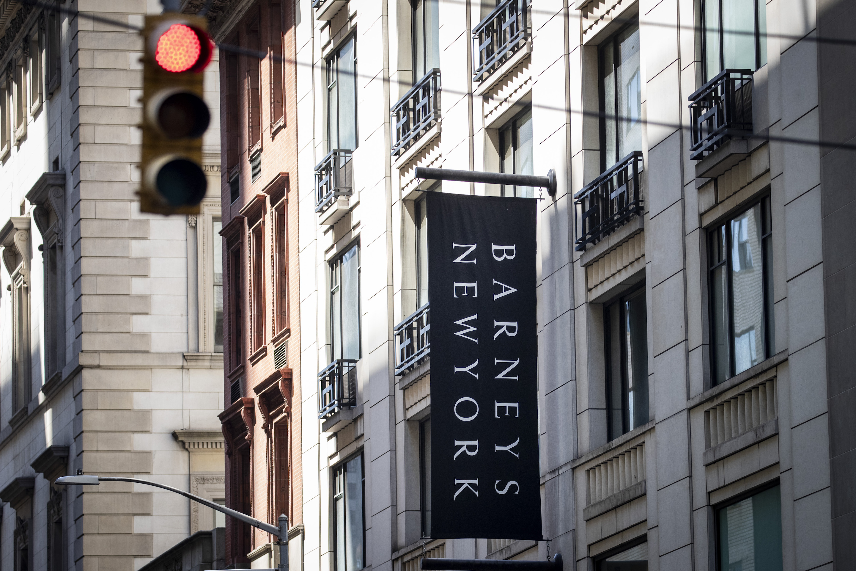 Barneys New York looks for ways to navigate luxury fashion competition.
