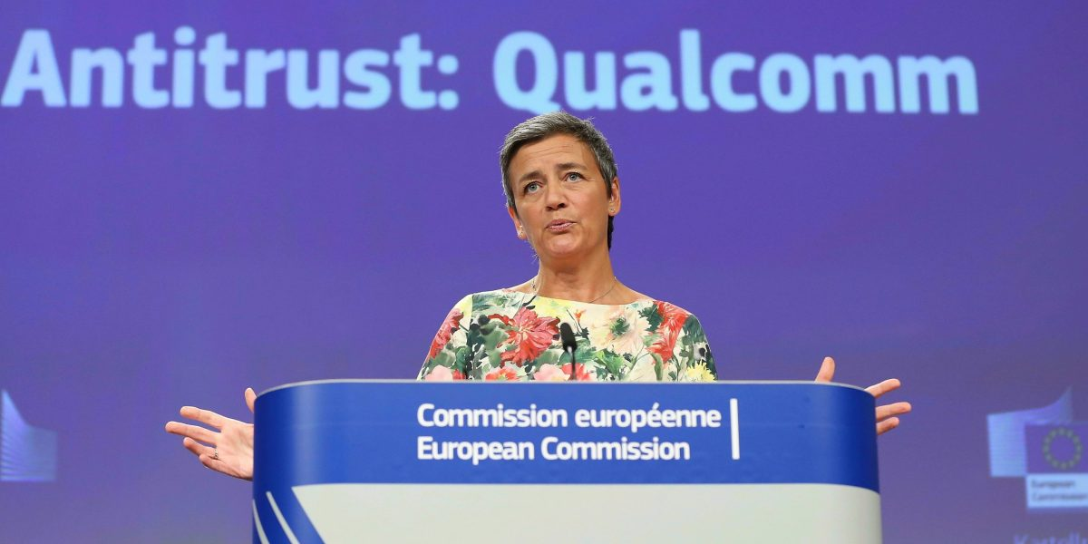 EU Antitrust Regulators Fine Qualcomm $272 Million for Pricing Chips Low to Knock Out a Competitor