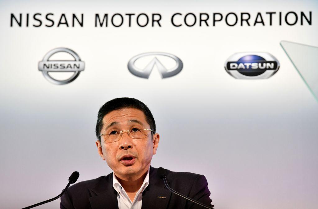 Nissan Motors president and CEO Hiroto Saikawa.