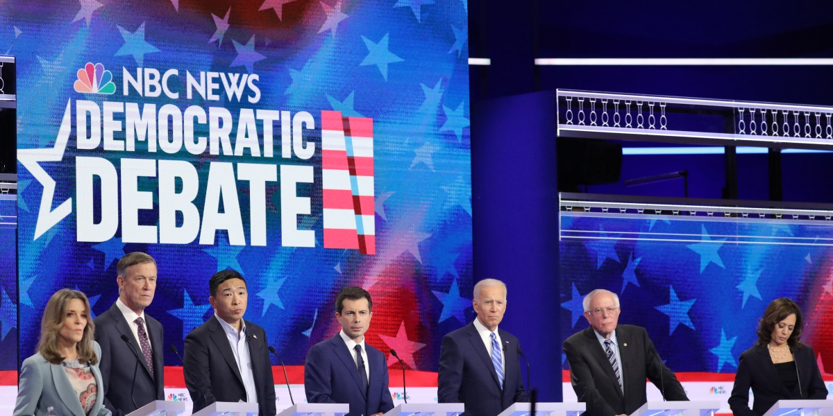 Here's the Lineup for the Second Round of 2020 Democratic Debates
