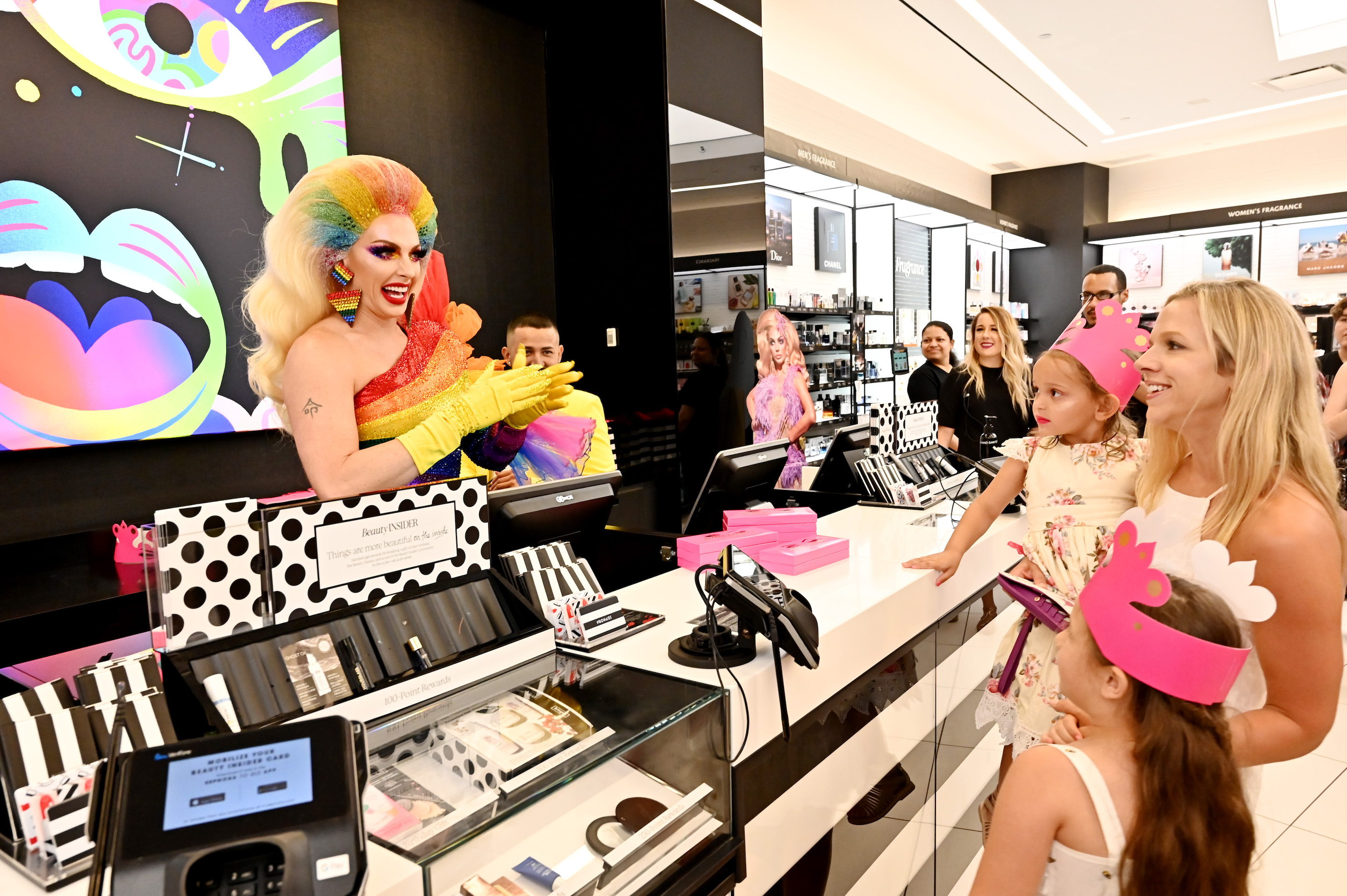 Anastasia Beverly Hills x Alyssa Edwards At Sephora Times Square