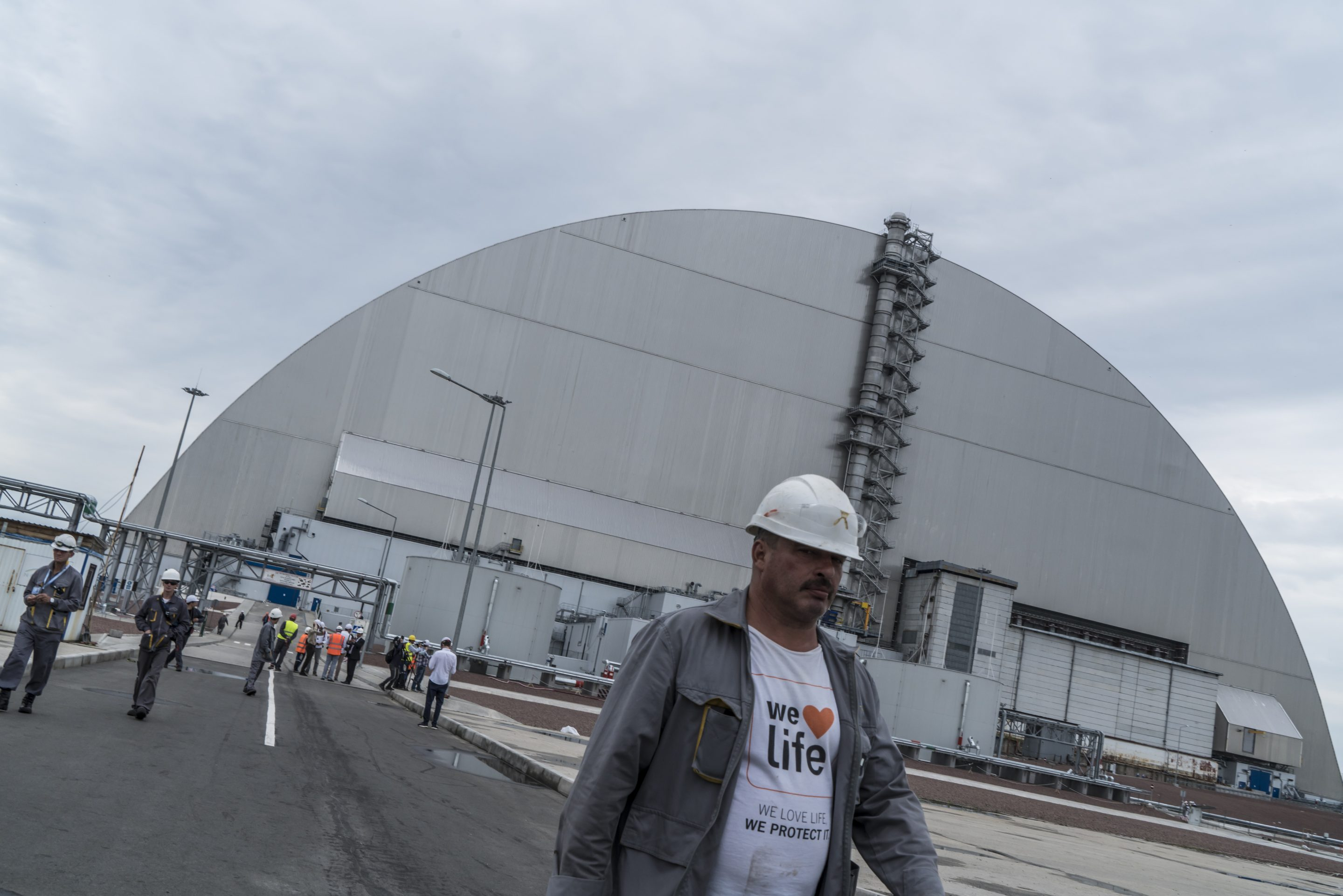 Chernobyl 'New Safe Confinement' Structure