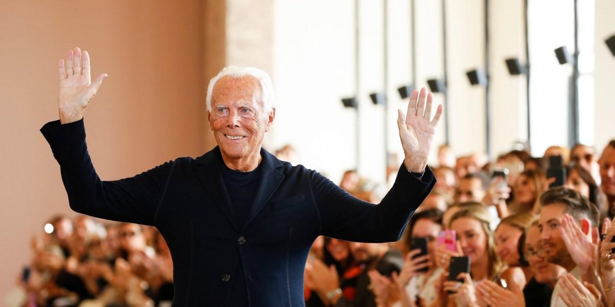 Giorgio Armani Is Restructuring His Fashion Empire