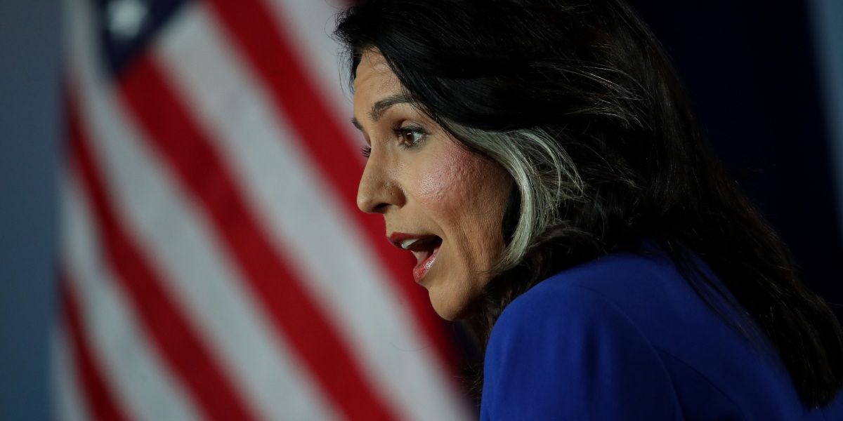 Tulsi Gabbard's Google Lawsuit Is About 'Paranoia' Against Big Tech, Says Legal Expert