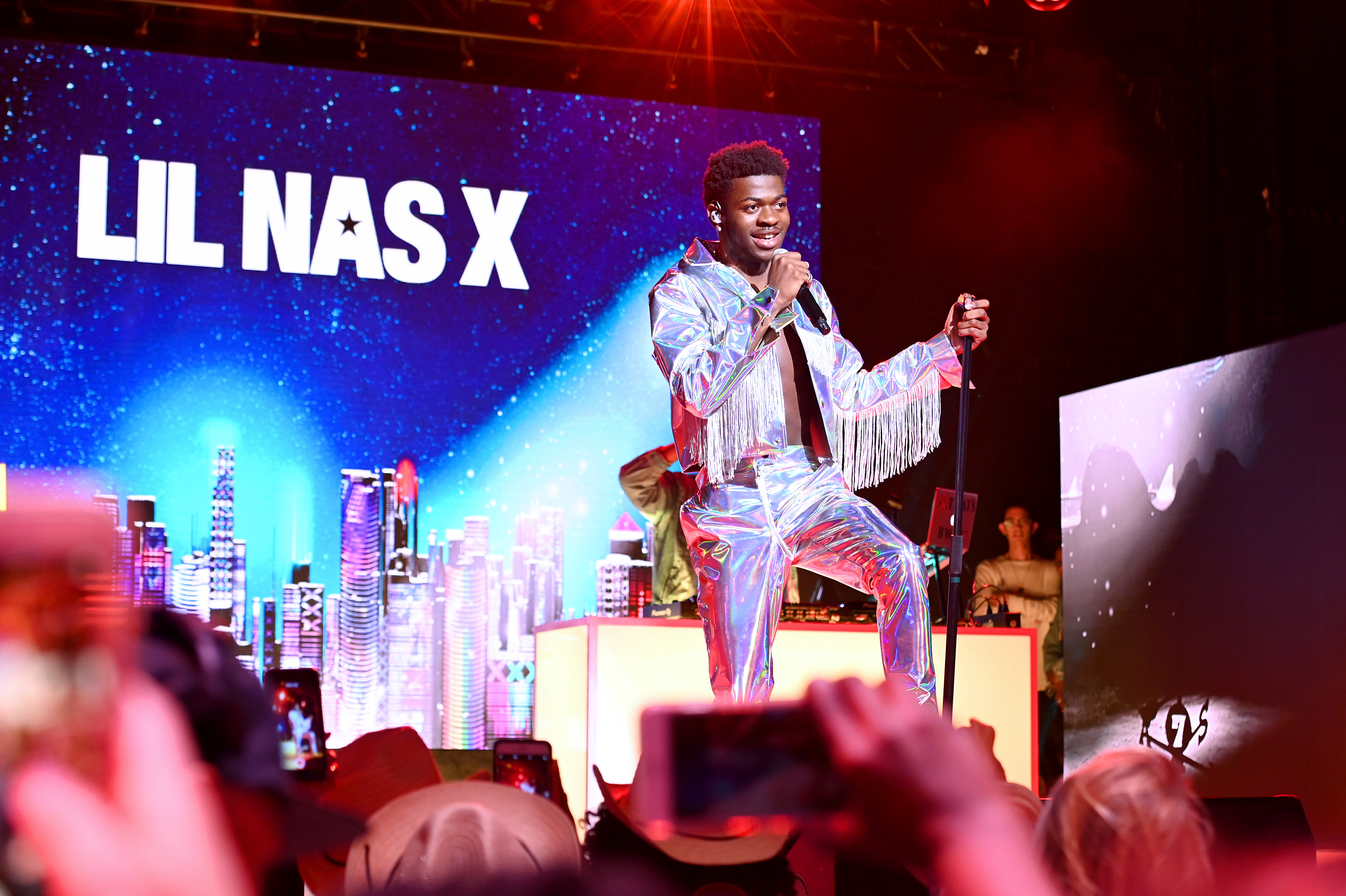 Lil Nas X performs at Internet Live by BuzzFeed