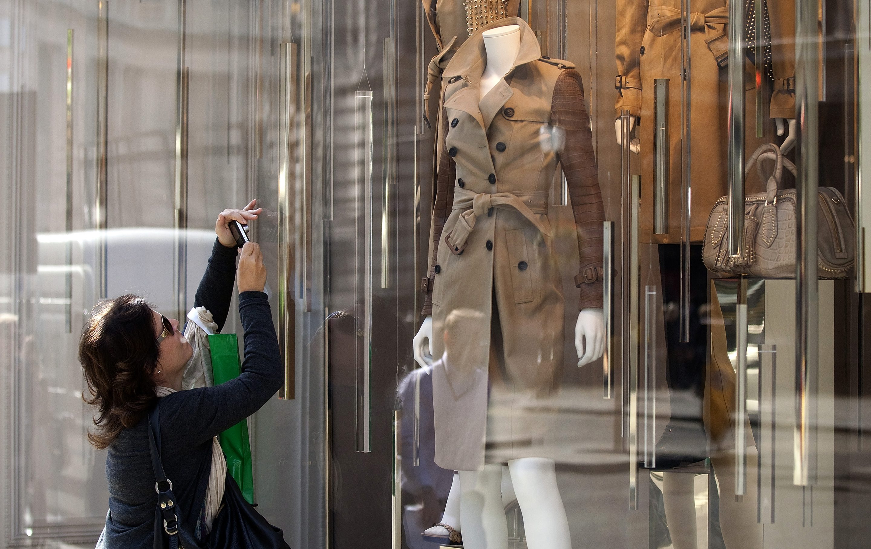 The classic Burberry trench coat of the future will be made using less carbon emissions.