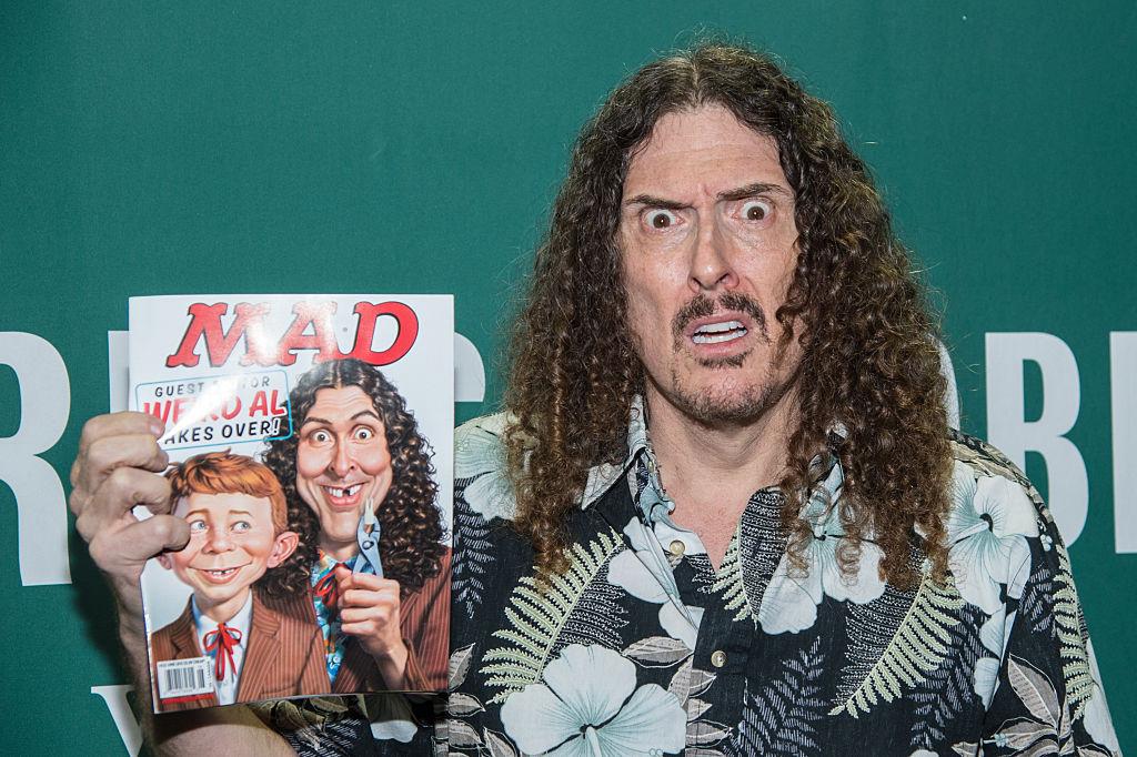 Wierd Al Yankovic with Mad Magazine