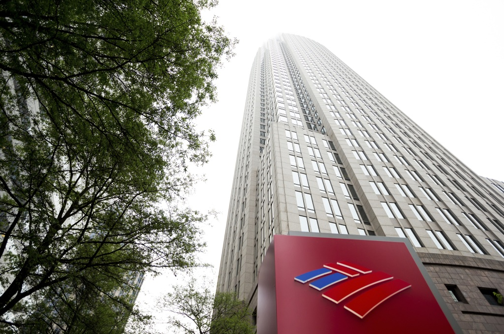 Bank Of America Headquarters As Revenue Seen Declining In 2016