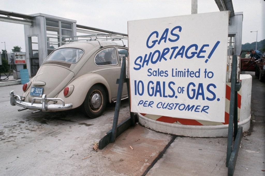 Volkswagen Beetle Gas Shortage