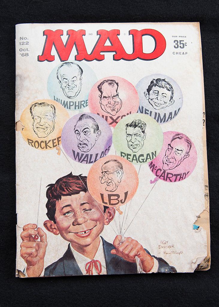 MAD Magazine Cover, 1968