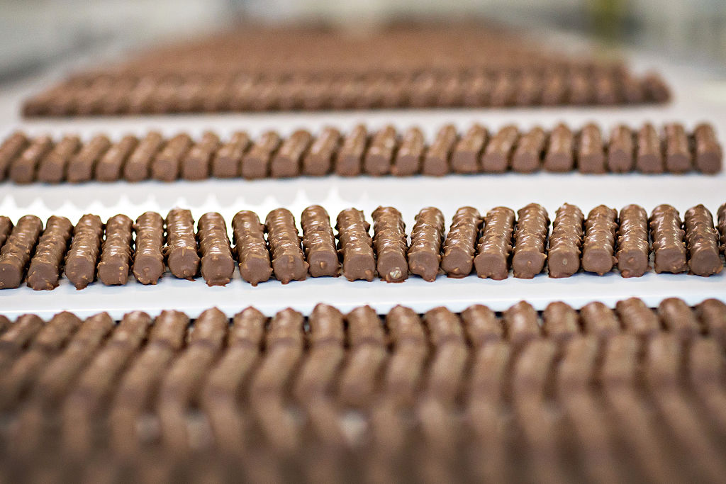 Chocolate Production Inside Nestle SA As Company Find Method To Cut Sugar In Chocolate by 40%