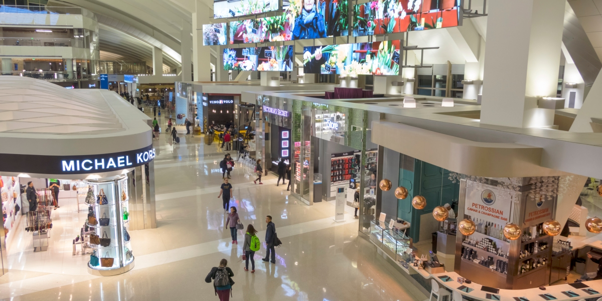 U.S. Airports Open for 'Terminal Tourists' to Hang Out, Shop, and Eat