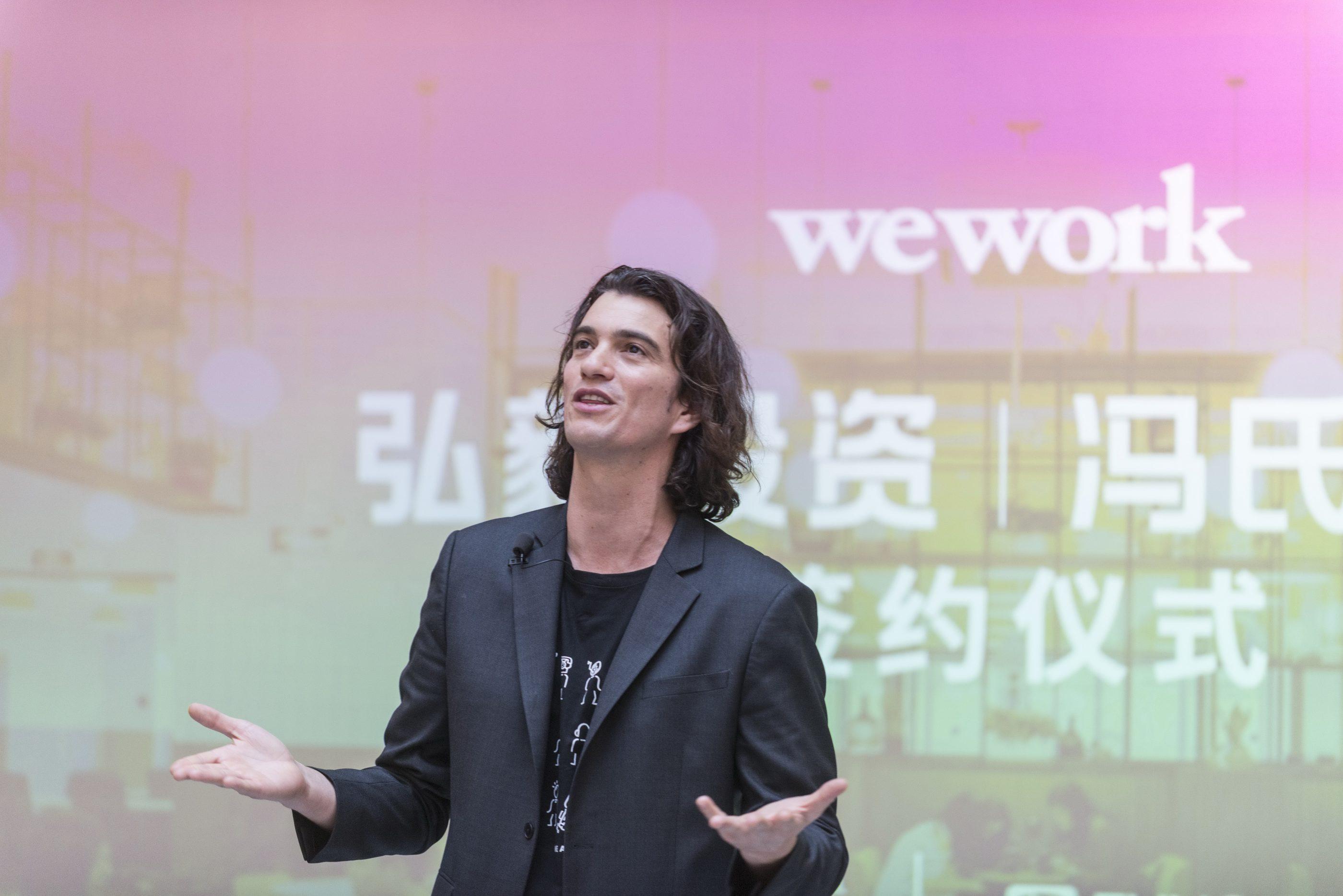 Adam Neumann WeWork