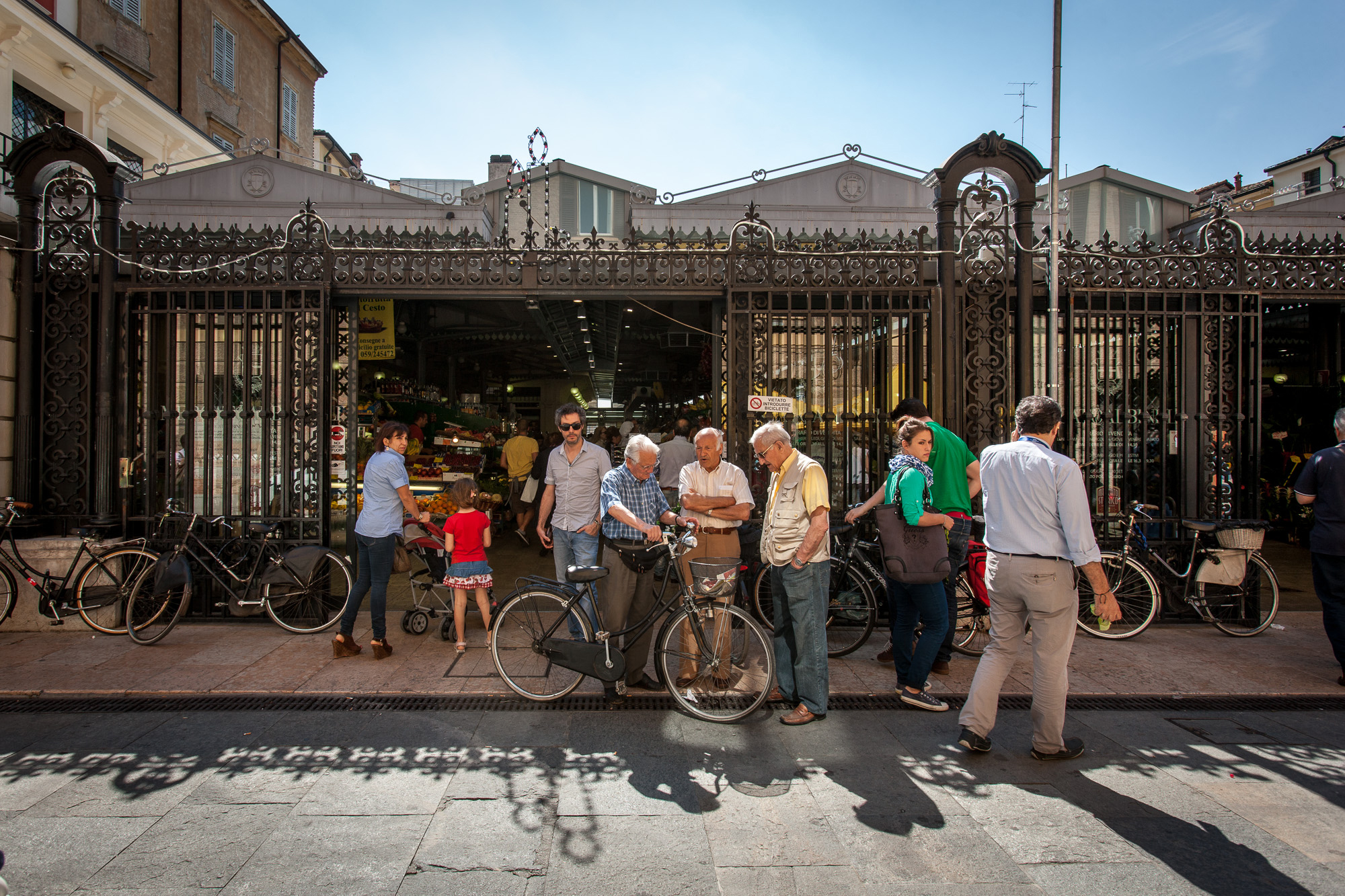 Mercato Albinelli-Modena Italy