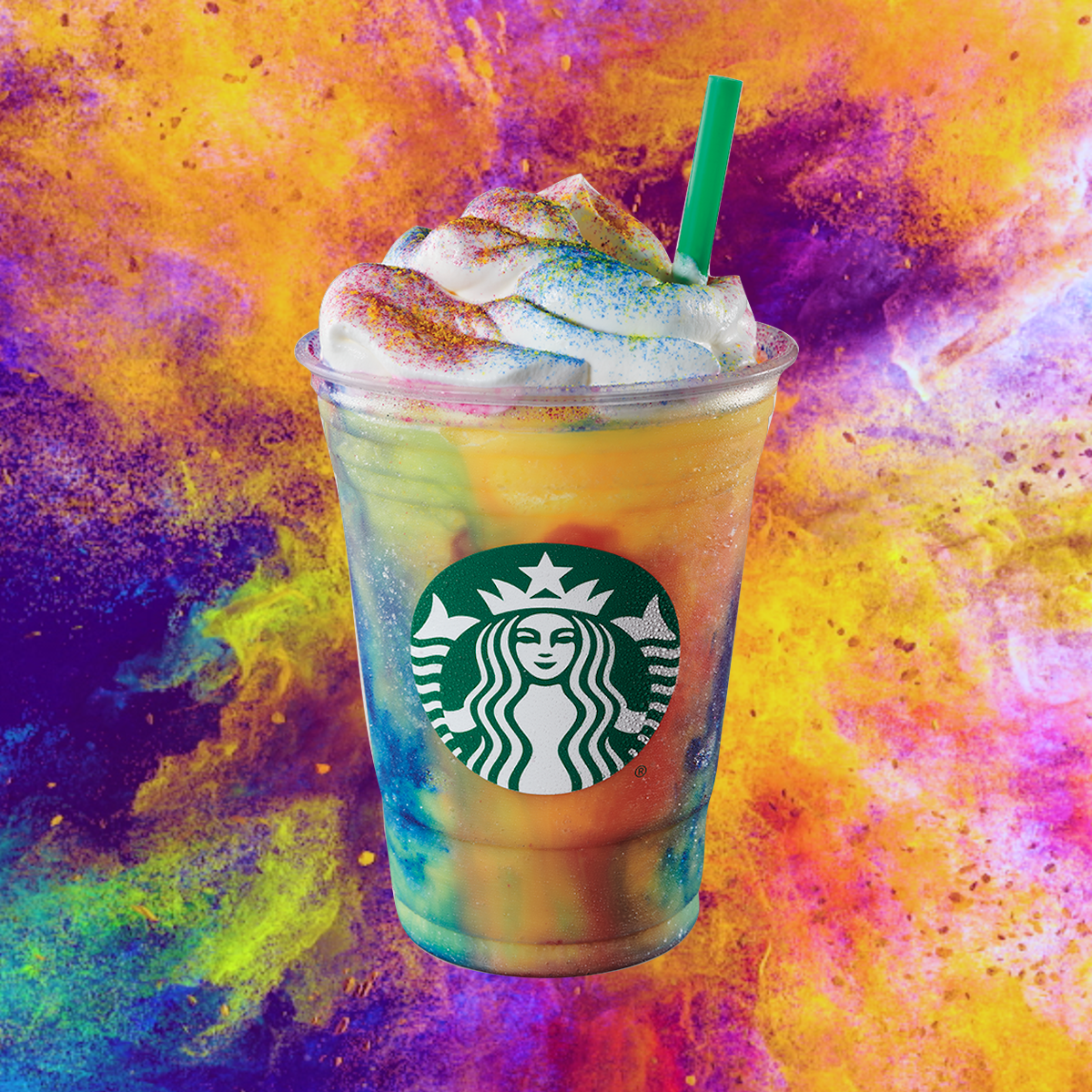A Tie-Dye Frappuccino, Starbucks' latest novelty drink, quickly became a darling of social media.
