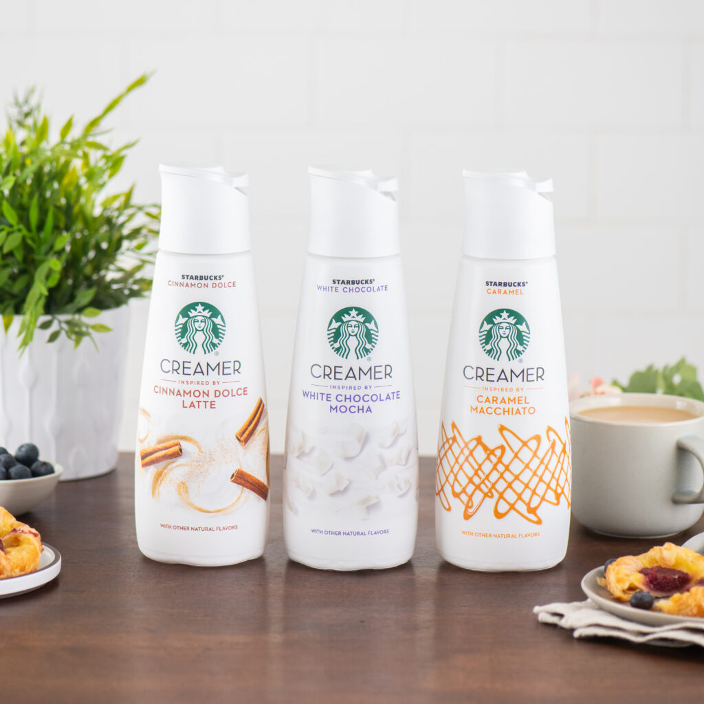 Starbucks and Nestle Launching Line of Creamers