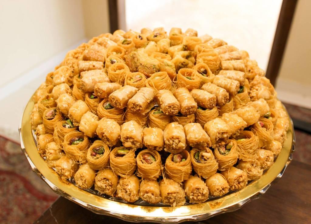 Zaltimo Sweets-Osh al Bulbul and Mini Baklava