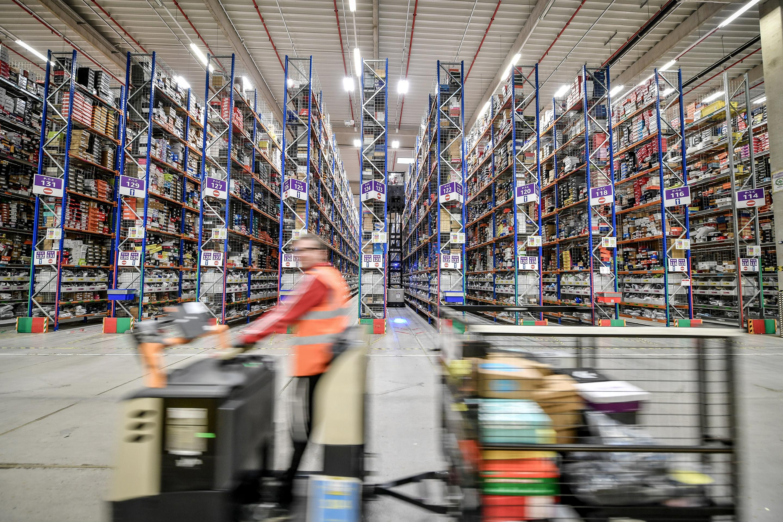 Amazon Prime Day fulfillment center