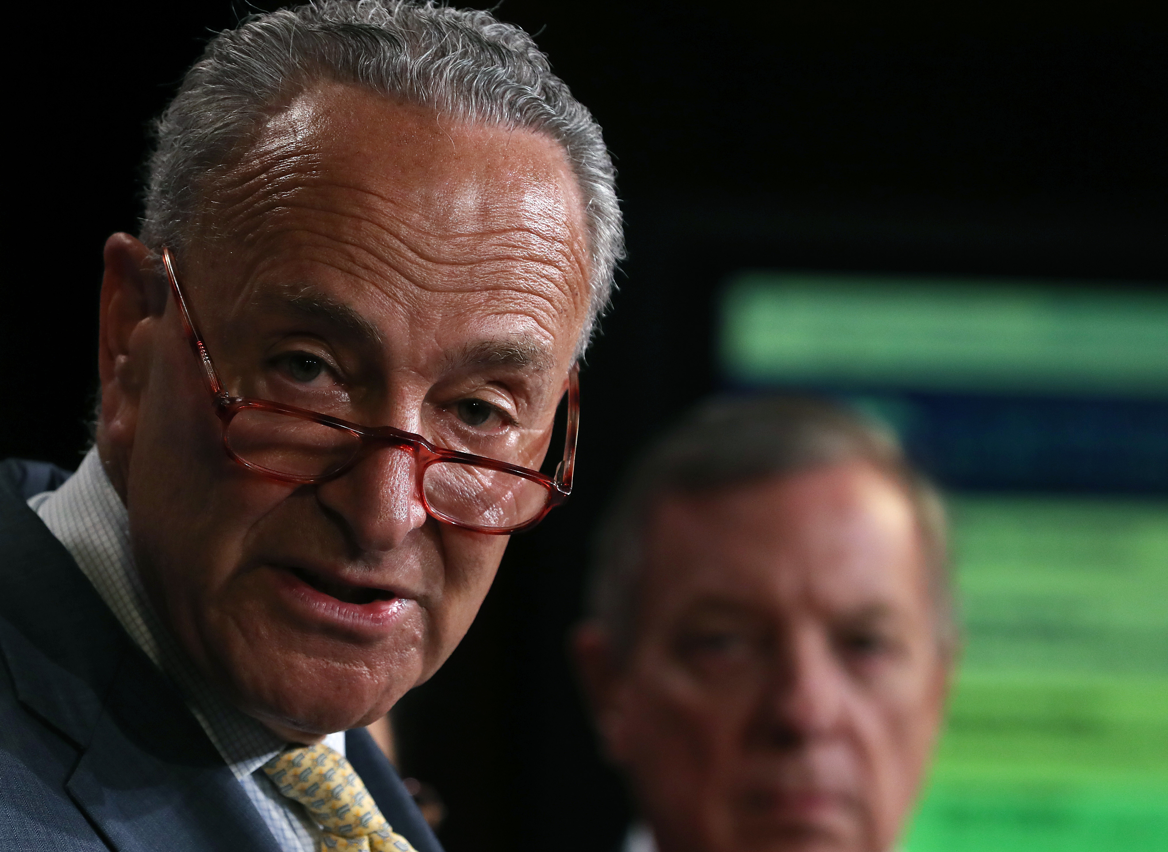 "Senate Democratic Leader Schumer And Senate Dems Introduce The ""Stop Cruelty To Migrant Children Act"""