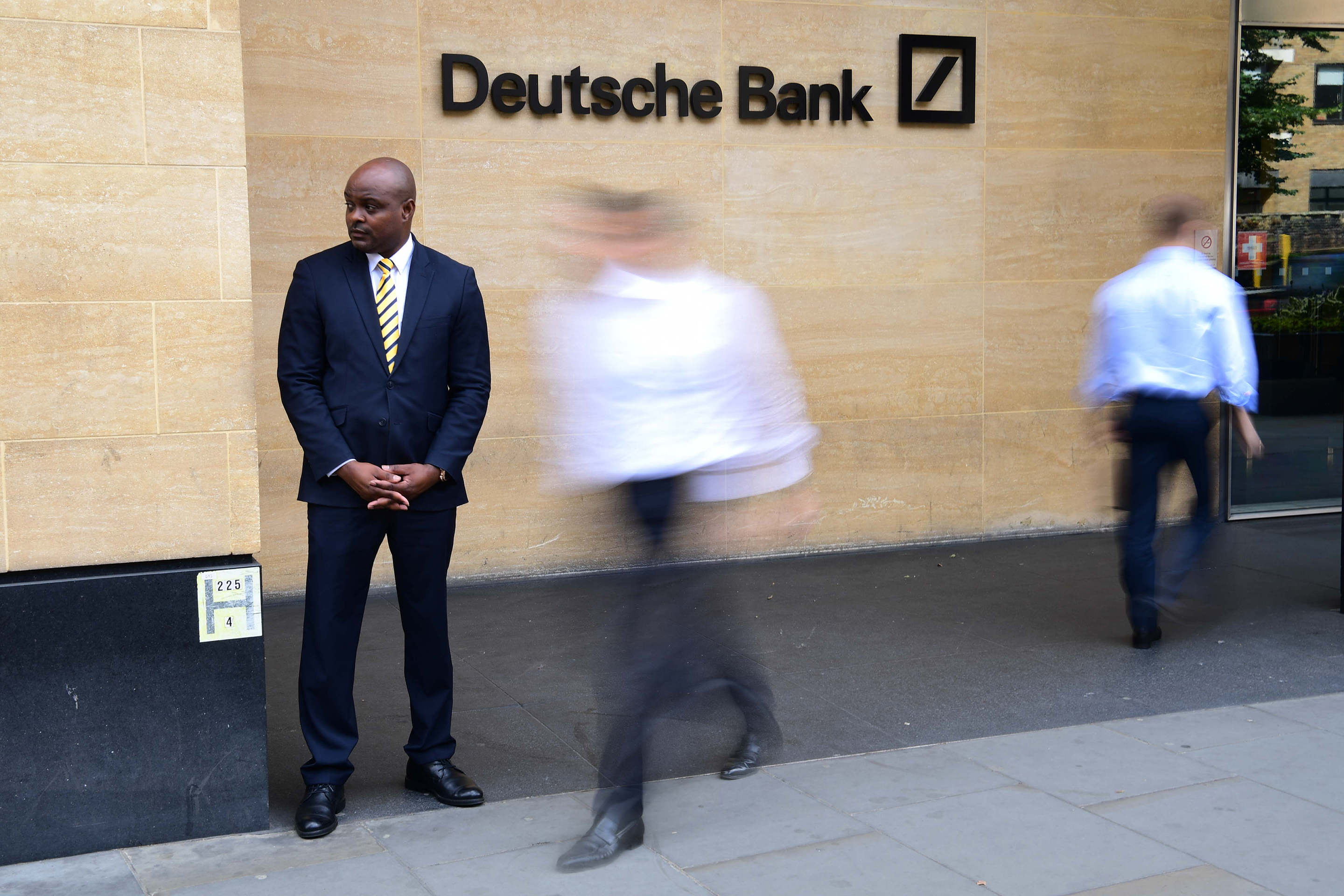 While Heads Rolled at Deutsche Bank, These Tailors Were Sizing Up Managers for New Suits