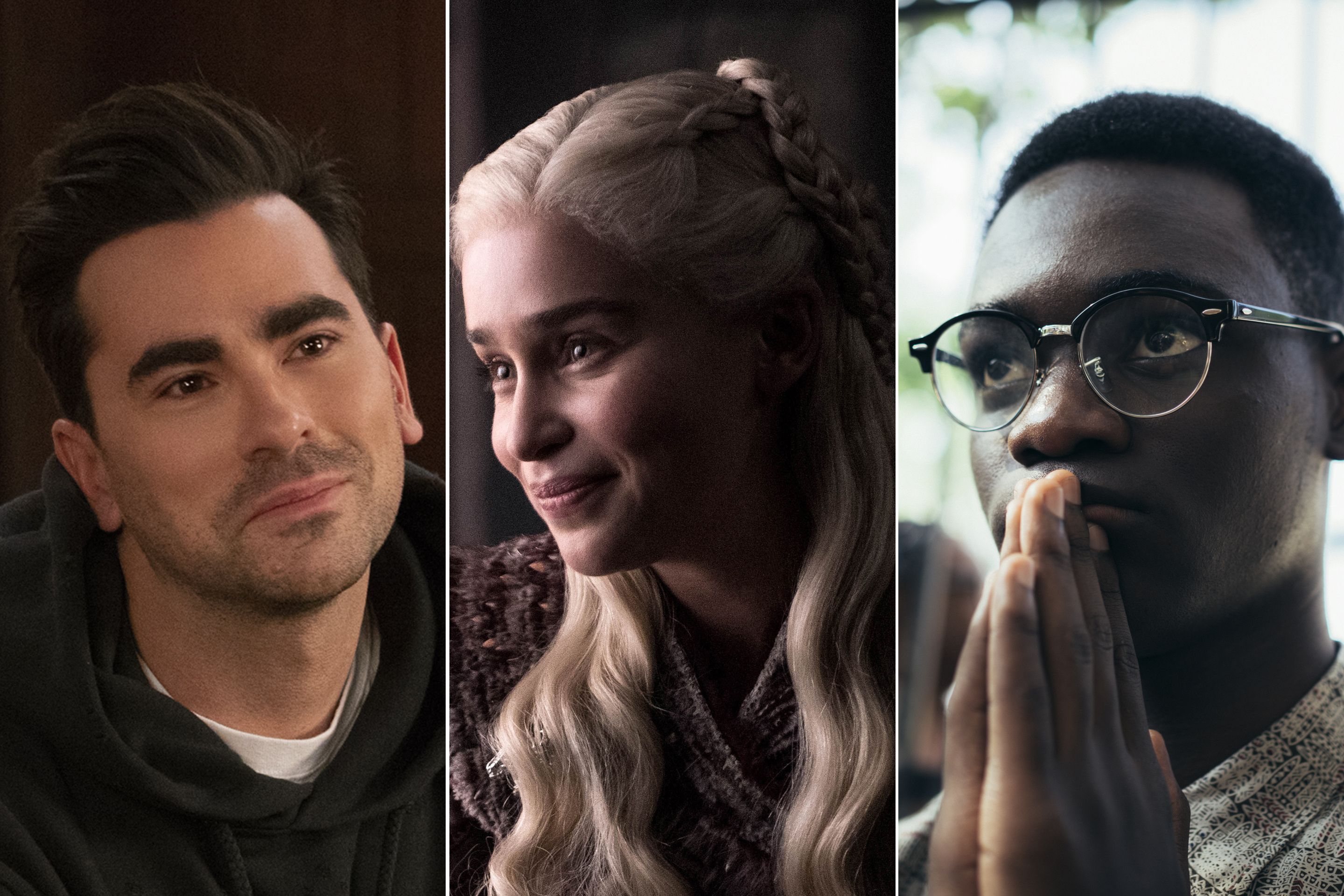 Schitt's Creek, GOT, When They See Us-Emmy Nominations