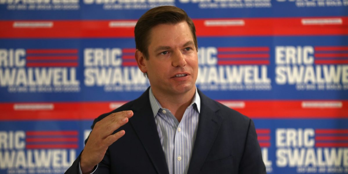 Eric Swalwell: Why I Ran for President—and Why I Dropped Out