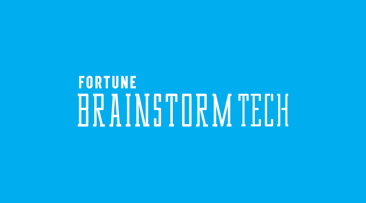 Fortune Brainstorm Tech Logo (blue)
