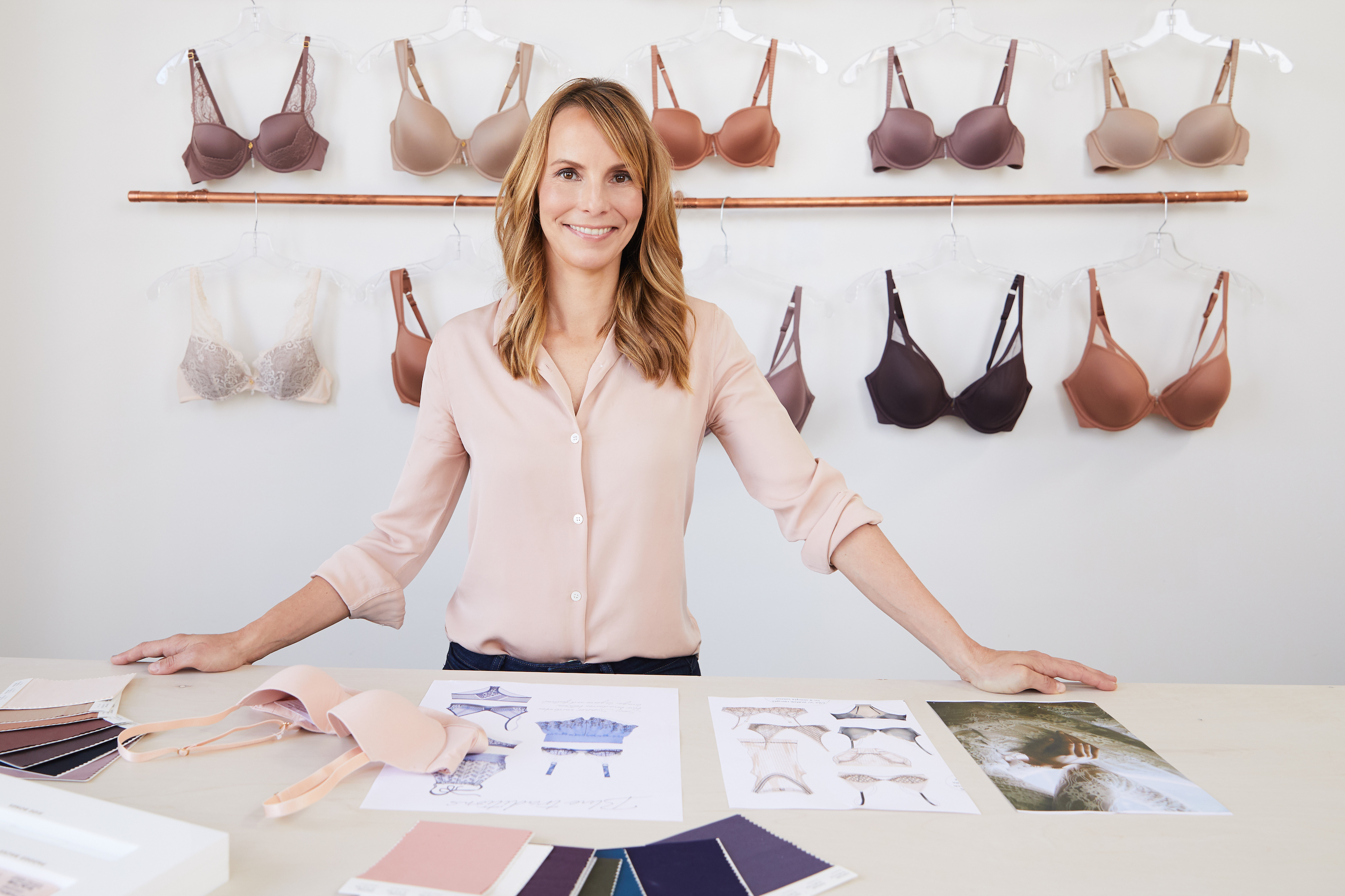Heidi Zak, co-ceo of online lingerie store ThirdLove, whose pop-up Manhattan concept store debuts next week.