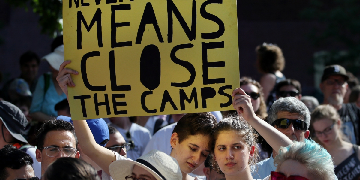 'Lights for Liberty' Vigil Reflects Growing Resistance to Immigrant Detention Policies