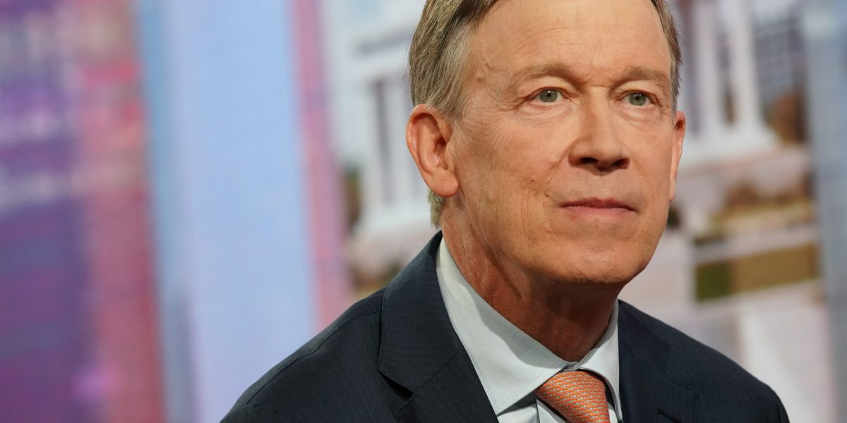 John Hickenlooper: Government Has Abandoned Entrepreneurs. I Intend to Change That