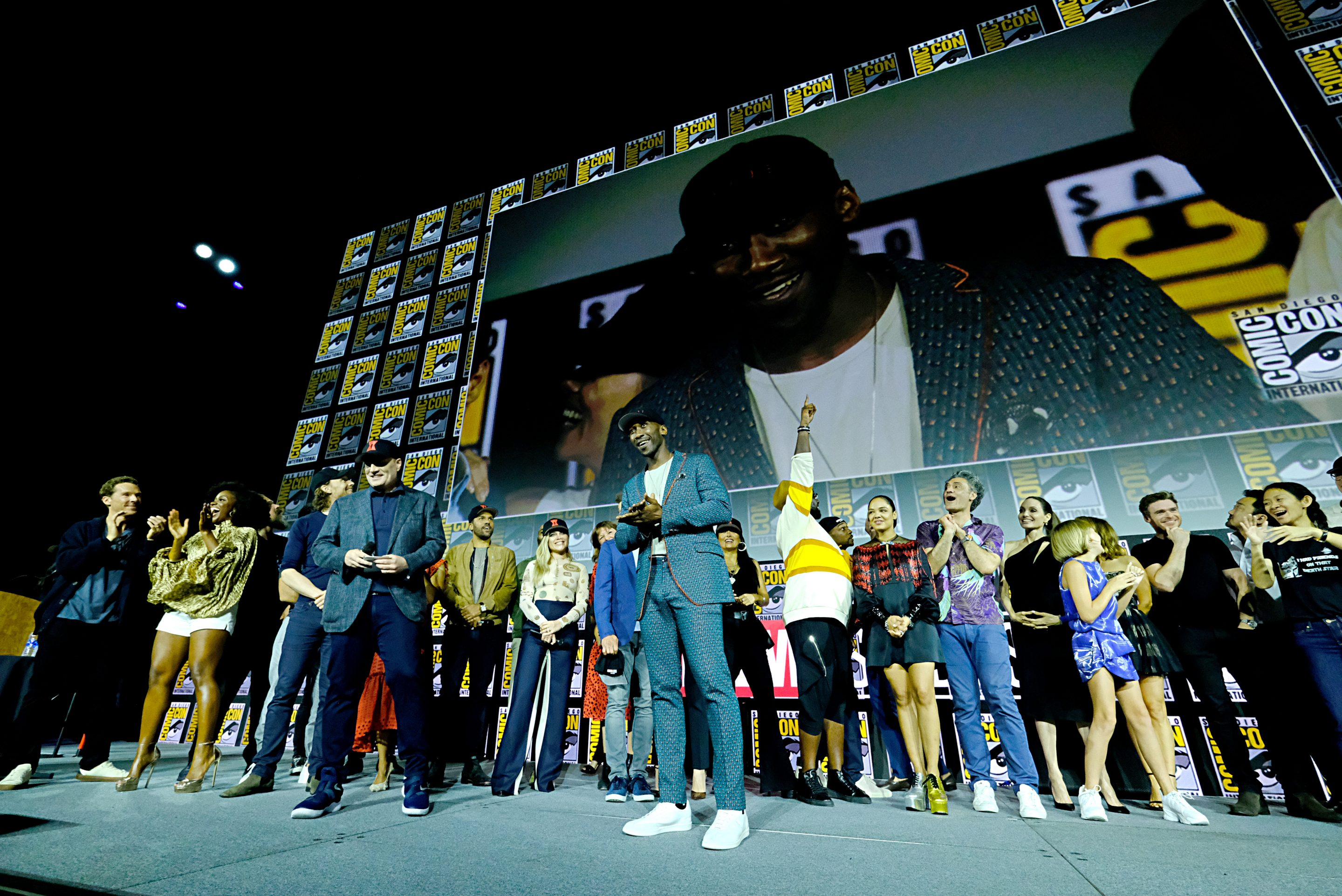 Mahershala Ali at the San Diego Comic-Con International on July 20, 2019.