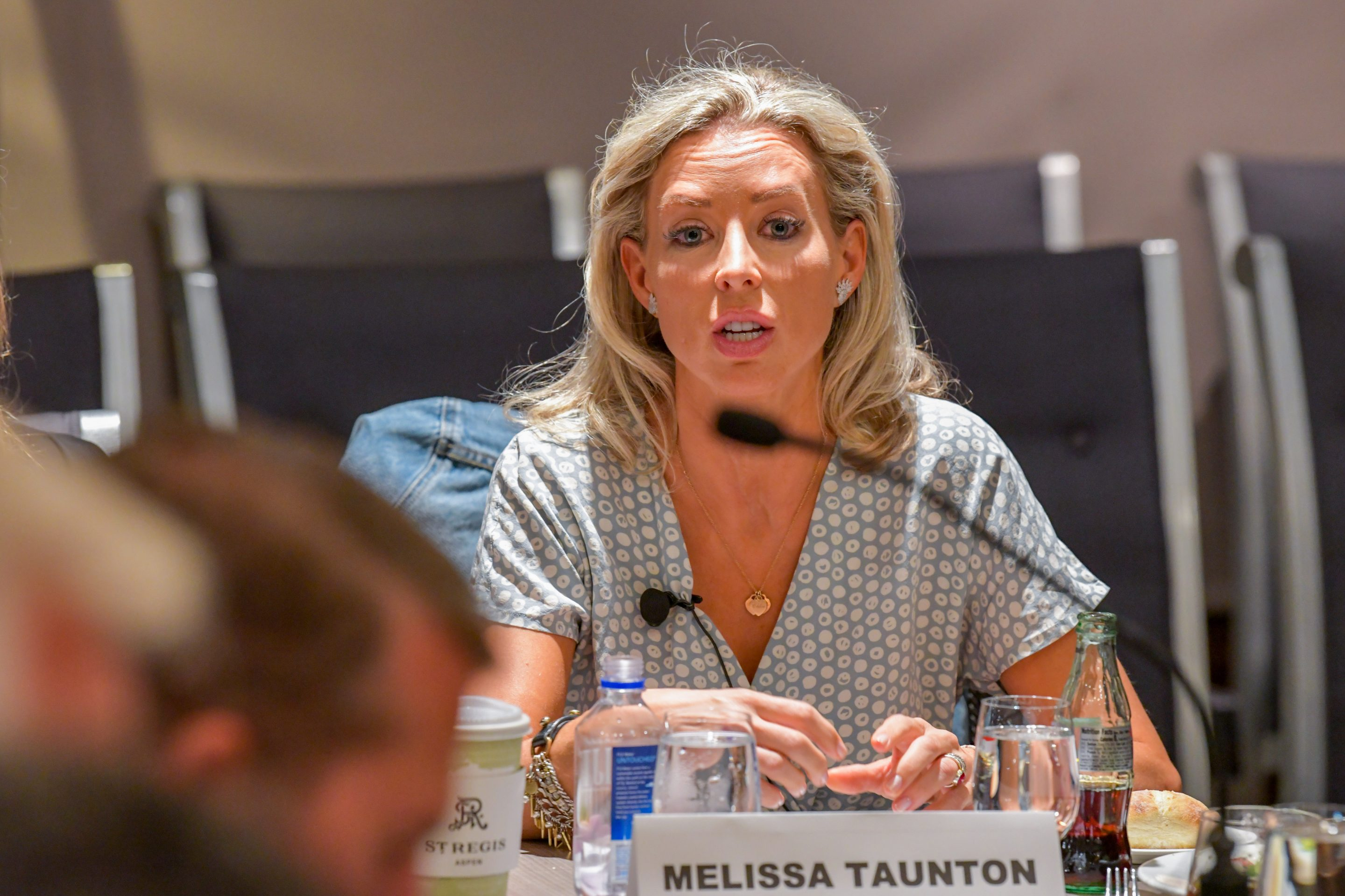 New Enterprise Associates partner Melissa Taunton speaks at Fortune's Brainstorm Tech conference on July 16, 2019, in Aspen, Colo.