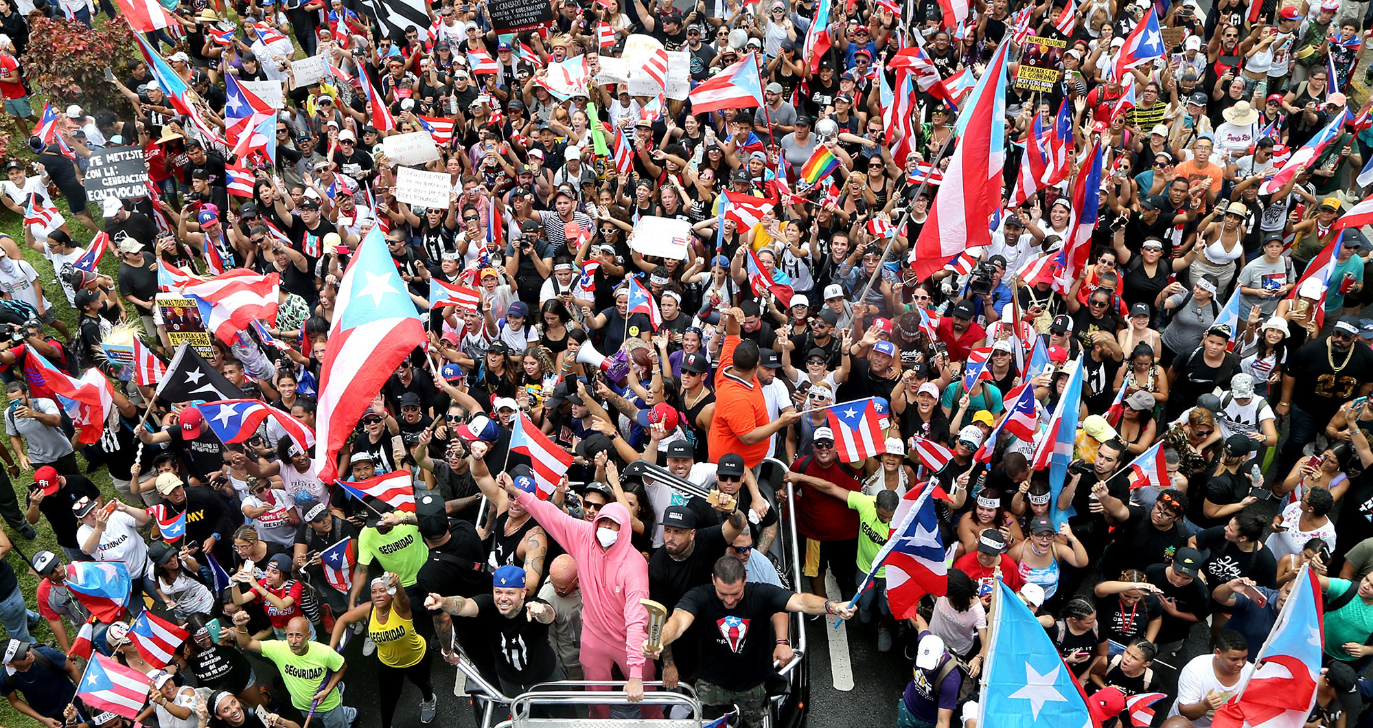 In Puerto Rico, it's the calm after the storm as protesters savor Rossello's resignation