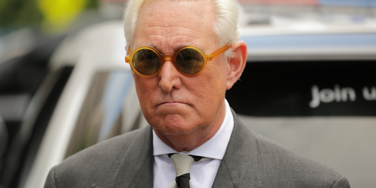 Roger Stone Just Got Barred From Social Media