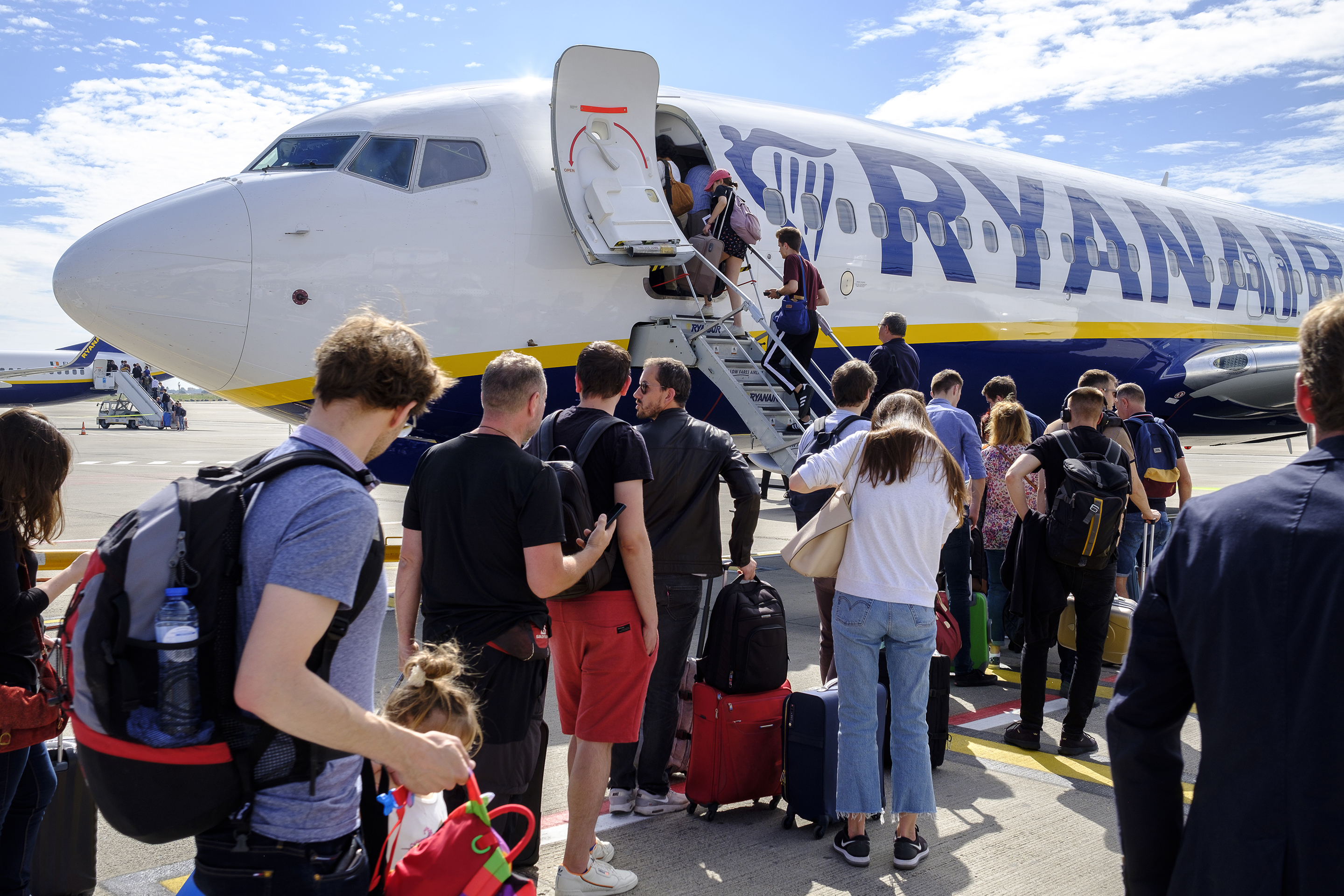 ryan air europe discount airline