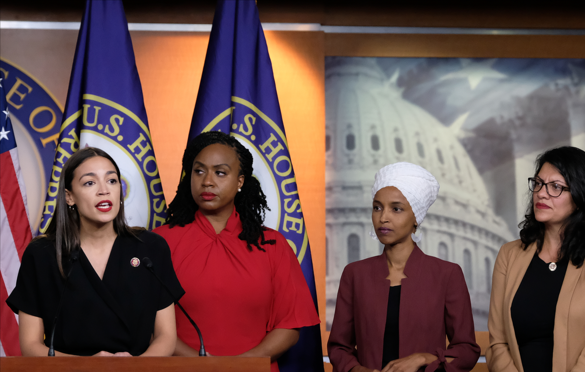 Image result for image, photo, picture, the squad, congresswoman