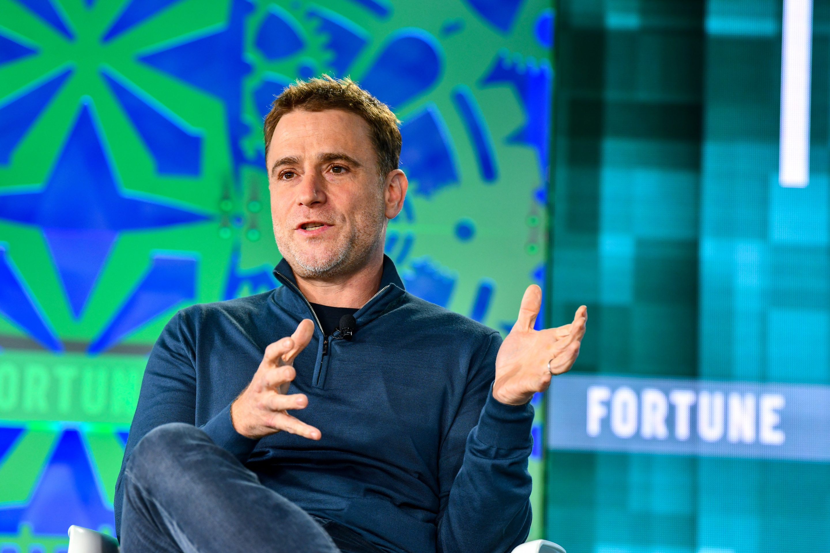 Slack CEO Stewart Butterfield speaks at Fortune's 2019 Brainstorm Tech conference on July 15, 2019 in Aspen, Colo.