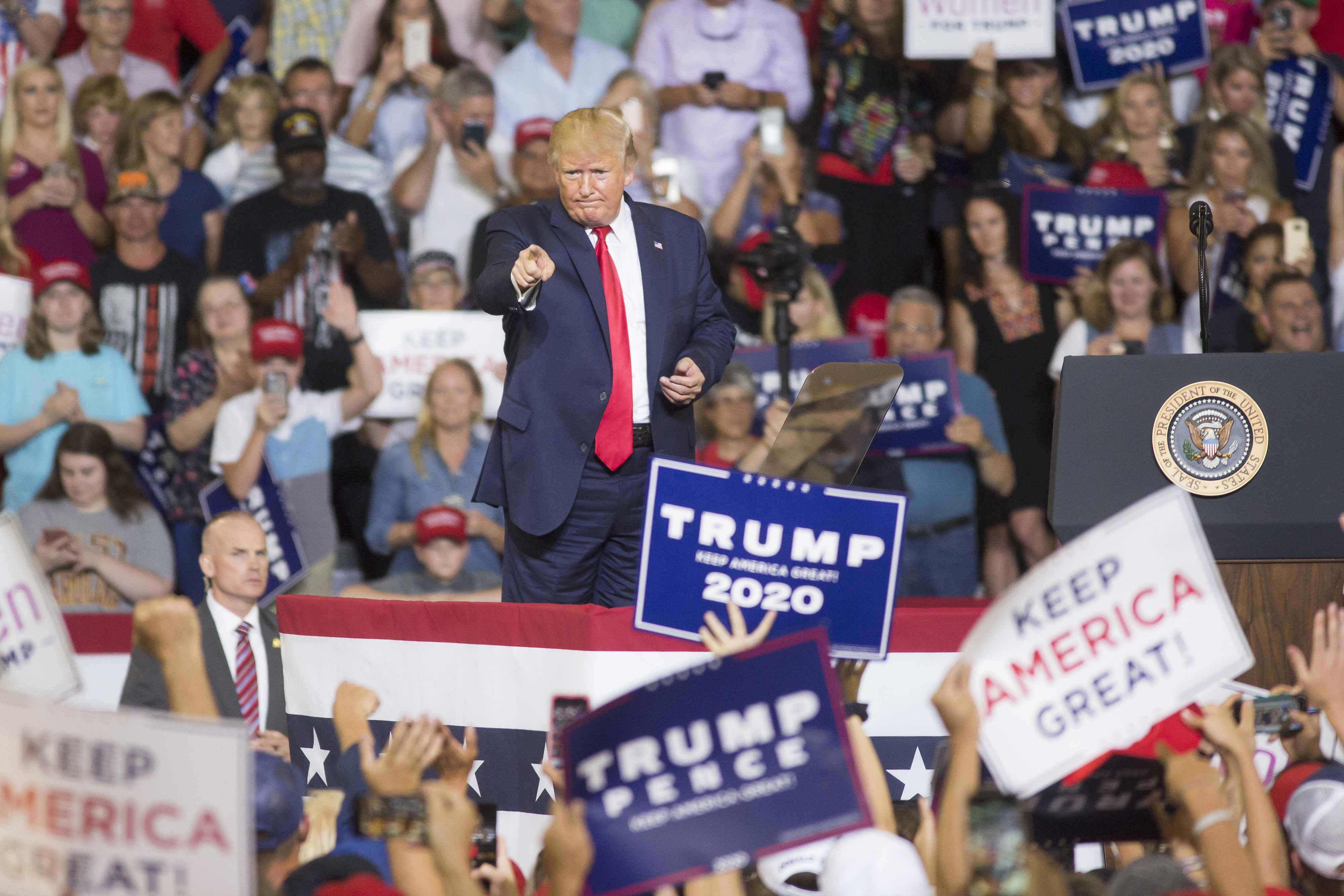 President Trump Holds Campaign Rally
