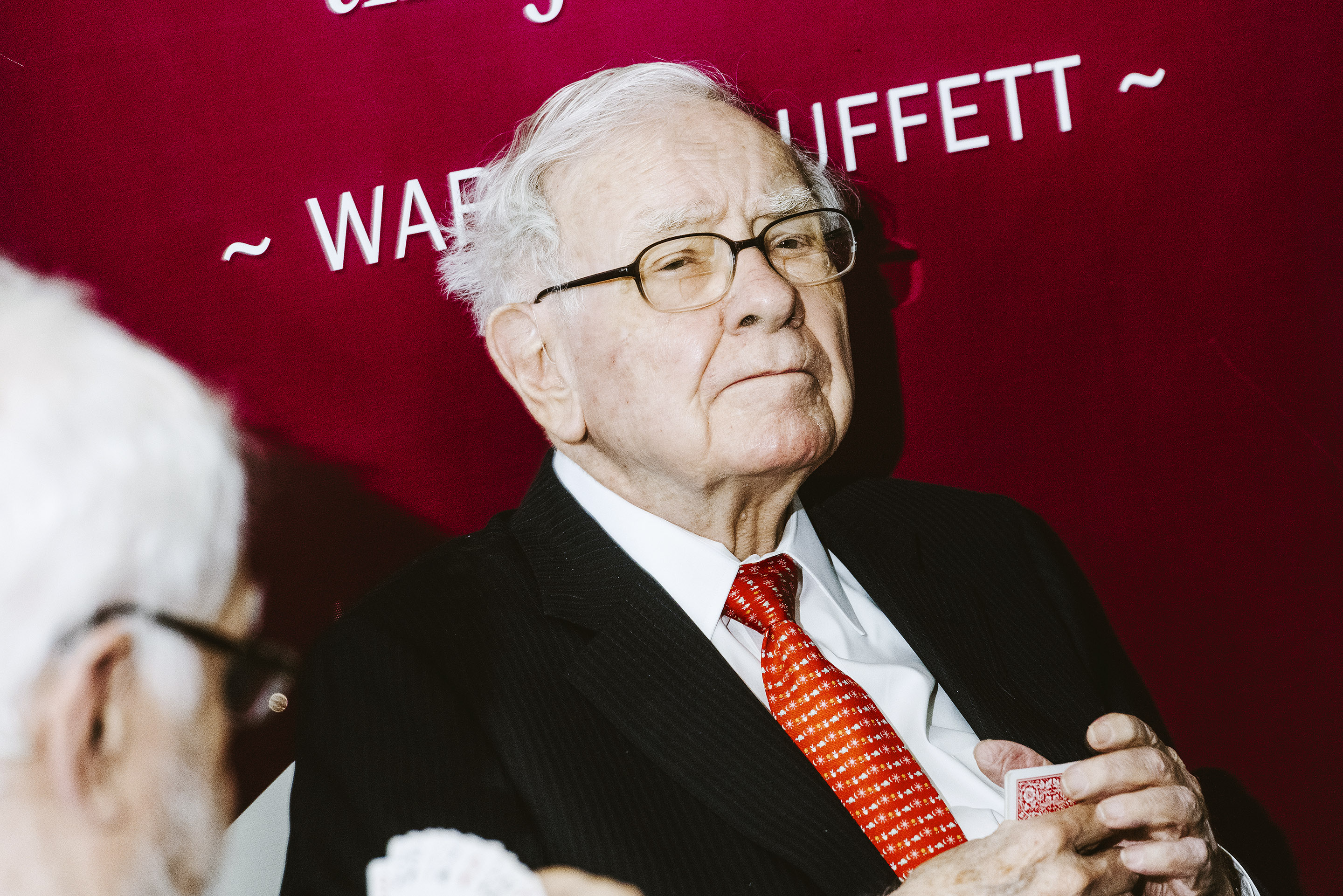 Warren Buffet at annual shareholders meeting 2019