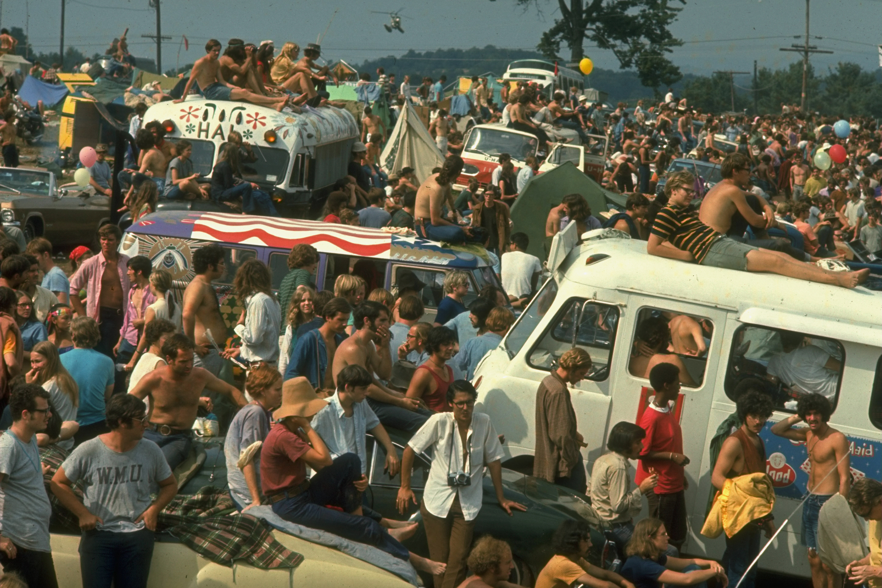 Woodstock 1969-Vans Busses